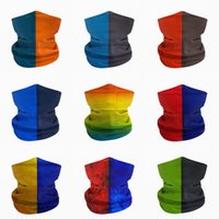 New Design Multifunction Seamless Hit Color Tube Bandana Cycling Masks