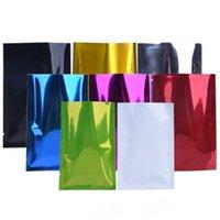 Сумки для хранения 1000 шт. 8x12 см Открытый Топ Алюминиевая фольга Пакет Вакуумное тепло Уплотнение Уплотнительные бобы Орехи Розничные сумки