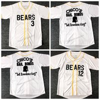 Statek od US Bad News Bears Baseball Jersey 1976 Chico Bonds Bonds Kelly Przeciek Tanner Boyle Męskie Szyte White Najwyższej jakości koszulki