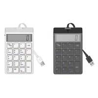 Sunreed Wired Numeric Keyboard With Display 19-Key USB Interface Cash Register Financial Keypad Keyboards