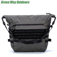 Outdoor Bags Military Nylon Crossbody Small Fashion Custom Mens Handbag Lasert Cut Molle Shoulder Bag Waterproof