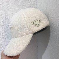 2021 Мода дизайнерские мужчины женщины шляпа осенью и зимний прилив крышка тедди бархат густые теплые бейсбольные колпачки