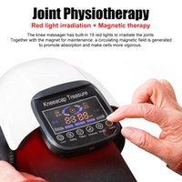 Newest Laser Heated Knee Touch Screen Rehabilitation Relief Leg Massage Knee Joint Physiotherapy Massager for Elderly GiftRabin