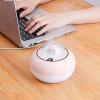 المرطب الروائح الناشر USB بارد ميست صانع الصمام مصباح المحمولة بالموجات فوق الصوتية رائحة الناشر القط-المرطب للمنزل أبيض / وردي / بنفسجي