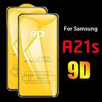 2Pcs 9D Protective Glass For Samsung Galaxy A21s 3D Tempered Glass For Samsan A12 A02 A32 A52 A72 A 21s Safety Screen Protectors