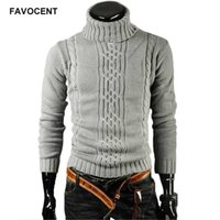 Favocent Homme Pull Pullover Hommes Mâle Brand Casual Slim Pulls Hommes Haut High revers Jacquard Changement Homme Pull XXL 211008