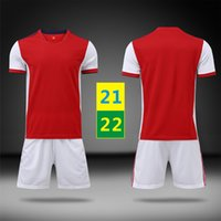 لنا بسرعة 21 22 الرئيسية جيرسي كرة القدم ارتداء مجموعات الأطفال كرة القدم قصيرة الأكمام البدلة رياضية رجالي الجري الاطفال زي التدريب تي شيرت 2021 2022 مع logo # ASNZ-21B1