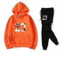 디자이너 세트 Sweatsuit 남성용 트랙스 패션 스포츠 후드 + 바지 의류 스웨터 풀오버 남성 여성 캐주얼 테니스 스포츠 정장 활성 땀 양복