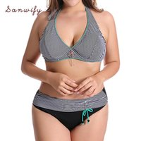 Traje de baño para mujer Talla grande 6xl Bikini Set 2021 Push Up Mujer Floral Print Traje de baño Grande Sexy Vendaje Ruffle Traje de baño