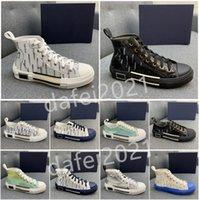 Scarpe casual da uomo Donna Outdoor Canvas Board Shoers Board Letters Stampato Pelle Pelle Couples Skateboard Trainer des Chaussures