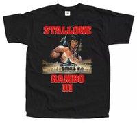 RAMBO III фильм Plaser V1 футболка Tee Black Все размеры с до 5XL
