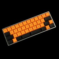 Toptan YMDK 40 KeySet DSA KeyCap 1.4mm PBT YMD40 AMJ40 için Kiraz Anahtarı MX Mekanik Klavye Klavyeleri
