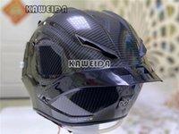Motorcycle Helmets Full Face Helmet Bright Black Fiber Glass Racing With Big Tail Spoiler