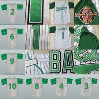 Jarius G-Baby Evans 1 Kekambas Baseball Jersey 9 Meilen Pennfeld II 'Big Poppa' 6 Spieler Archa Stickereierwaren
