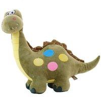 Plüschpuppen Simulation Cartoon Nette kleine Dinosaurier Spielzeug Puppe Großer Geschenk Junge