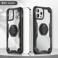 Transparent Phone Cases For Samsung Galaxy S21 Ultra S20 FE A72 A52 A42 A32 A12 A02s A21s A30s A20s A10s Shockproof Acrylic TPU Protective Cover