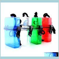 Storage Boxes & Bins Home Organization Housekeeping Garden Outdoor Swim Waterproof Plastic Container Case Key Money Box Card Holder Co