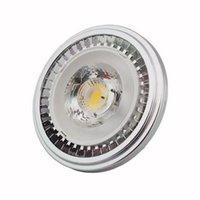 Lampor Dimmerbar G53 AR111 LED-strålkastare 10W 15W COB-försänkta downlights Inomhus Hembelysning DC12V / 110V / 220V CEROHS 6PCS
