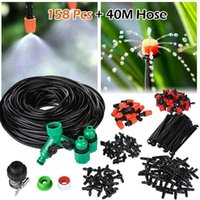 Garden Watering Equipments Irrigation Spray Automatic Drip Irrigations System DIY Greenhouses Adjustable Drippers Drips Waterings Kits