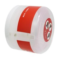 Nail Art Equipment Empty Neck Paper Dispenser Barber Strip Collar Tape Roll Holder Covering Case Container With Suc