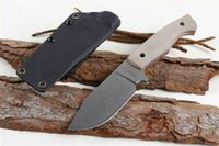 Boker Plus VoxKnives Rold Fixed Blade Knife 3.7'' Stonewash D2 Blade, G10 Handles Outdoor Camping Hunting Survival Pocket Knives Utility EDC Tools
