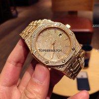 Высококачественные мужские часы Riamond Watch 41mm Reloj de lujo 3120 Часы автоматические Мужские Часы Montre de Luxe Writswatches Xun DP MIF