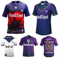 2020 Melbourne Storm Premiers Rugby 20 21 Tempestade Victoria Champion Camiseta Casa Tamanho S-5XL