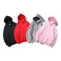 Männer designer koppeln hoodie rote stickerei casual europäisch und amerikanisch mode trend herbst winter lose warme kleidung fleece frauen kapuzenpullover authentisch