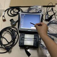 MB Star C3 Программное обеспечение HDD SSD с ноутбуком CF19 RAM 4G Полный набор диагностический мультиплексор для инструмента с кабелями, готовыми к использованию