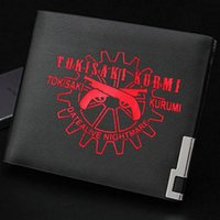 Tokisaki Kurumi Portefeuille Date d'A Live Purse Nightmare Cartoon Court Cash Note De Case Argent Notecase Cuir Sac Bags Bag Card Titulaires de cartes