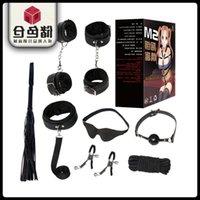 Jiuai SM Kit amusant 8/12 Morceau Ensemble de décompression de corde de liaison en peluche Jouets pour adultes produits 12kv