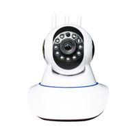 Cámaras de seguridad para exteriores WiFi inalámbrico Cámara de vigilancia para el hogar 1080p 360 ° Rotación de teléfono móvil HD Visión nocturna Y3