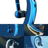 Headphones Bluetooth Headset Mini Bluetooth5.0 Earpiece Wireless Handsfree Earphone Earbud For IOS Android Smart Phone2021i