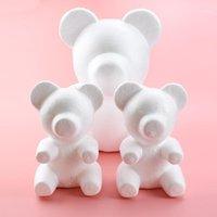 1pcs 20cm 30cm Artificial Flowers Foam teddy bear of roses Mold DIY Gifts Polystyrene Styrofoam wedding Valentine's Day present1