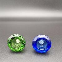 Grosse ciotole di narghilè con forma a diamante 14mm maschio joint joint shisha ciotola di vetro Bong