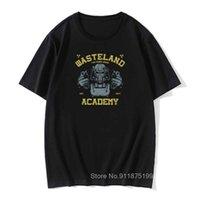 Fallout T-60 Academy Game Tshirt Herren 100% Baumwolle Stoff Herbst Rundhals T Shirts Lustige T-Shirts Drucken