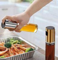 Keukengereedschap olie sproeier pot plastic spuitpomp fijne fles koken gebakken bakken olijfoliën flessen tool voor pasta 3 kleuren DWE9128