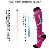 New Fashion Sports Compression Socks Stockings Pressure Men's and Women's Running Sports Elastic Long Sock
