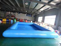 Kommerzieller aufblasbarer Pool für Erwachsene und Kinderfreie Luftpumpenzubehör