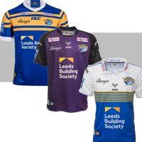 Presell 2021 Leeds Rhinos Rugby Formalar Gömlek Harry Newman Rob Burrow Erkekler Kevin Sinfield Danny McGuire Kylie Leuluai Barrie McDermott
