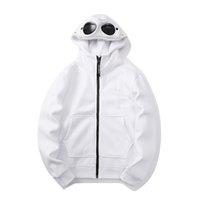 Корейская мужская толстовка моды пуловер CP ветровка глаза молния с капюшоном с капюшоном свитер с капюшоном
