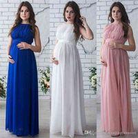 Maternity Dress Pregnancy Clothes Lady Elegant Vestidos Pregnant Women Chiffon Party Formal Evening Dress Photo Shoot Long Dresses