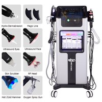 8 in 1 Multifunction Skin Care Facial Cleaning equipment H2O2 Hydra Jet Peel Oxygen big Bubble Machine