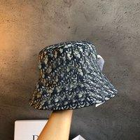 Diseñadores Altamente Calidad Cubo Sombrero Moda Hombres Picatrices Termas Sombreros Hombre Mujeres Unisex Sunhat Pescador Caps Bordado Transpirable Casual y caja original