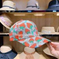 Clássico letra cacto cacto boné de beisebol mulheres famosas algodão ajustável crânio esporte golf curvado alta qualidade morango balde chapéu viseira