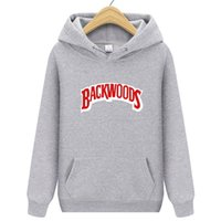 Hoodies Moda erkek Sonbahar ve Kış Hip Hop Kazak Streetwear Backwoods Hoodie Kazak Giyim