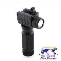 Under-hanging 20mm Strong Light Led Flashlight Grip Aluminum Alloy Flashlight Tactical Flashlight