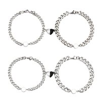 Charm Bracelets Magnetic Couples Mutual Attraction Relationship Matching Friendship Rope Bracelet Set Gift For Women Men