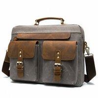 Erkek Evrak Çanta Çanta Deri Vintage İş Ofis Çantası Laptop Çantaları Deri Evrak Çantası Erkek Avukat Çanta Evrak Çantası K5CY #