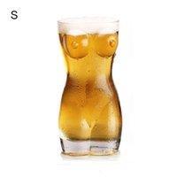 drinkware مثير سيدة الرجال دائم جدار مزدوج الويسكي النبيذ نبيذ كبير cht البيرة الإبداعية الجسم شكل الجسم كأس